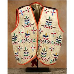Santee Sioux Childs Vest