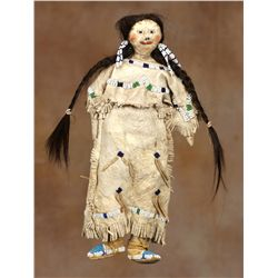 Northern Cheyenne Beaded Doll