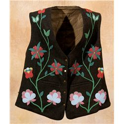 Chippewa Beaded Vest