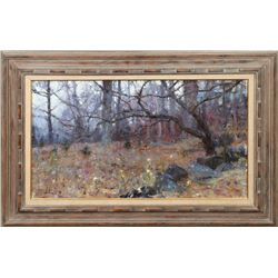 Richard Schmid, oil on canvas