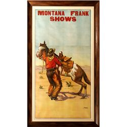 Montana Frank Shows Poster