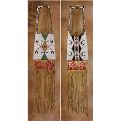 Lakota Sioux Beaded Pipebag