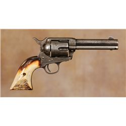 Colt Single Action Revolver with Heiser Rig