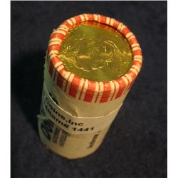 1441. Original Uncirculated Roll of (25) Andrew Jackson Golden Presidential Dollars. Bank or Mint wr