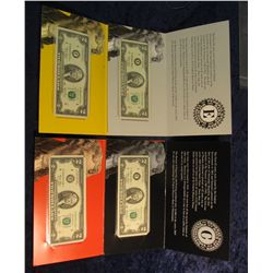 1458. (4) Different Series 2003 $2 Federal Reserve Note Star Replacement. St. Louis, Mo., Richmond,
