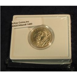 1480. 2008 S Bald Eagle Commemorative Half Dollar in original U.S. Mint issued box. Gem BU.