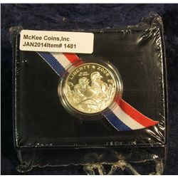 1481. 2008 S Bald Eagle Commemorative Half Dollar in original U.S. Mint issued box. Proof.