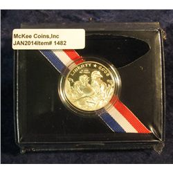 1482. 2008 S Bald Eagle Commemorative Half Dollar in original U.S. Mint issued box. Proof.