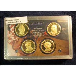 1579. 2008 S U.S. Proof Set. Original as issued. Includes  5-pc. Quarter Set, Native American Dollar