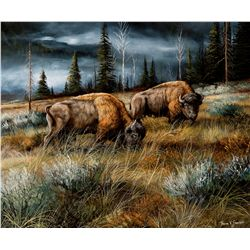 Stormy Yellowstone Afternoon by Swanson, Trevor