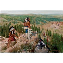 Scouting the Fort by Hantman, Carl