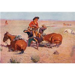Remington's Four Best Paintings by Remington, Frederic