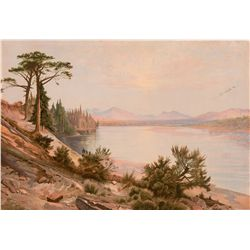 Head of the Yellowstone River by Moran, Thomas