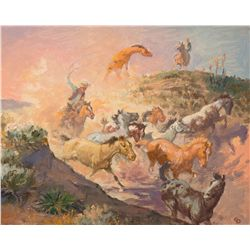 Roping Wild Ones by Dye, Charlie