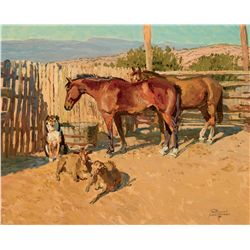 A Tesuque Afternoon by Lougheed, Robert