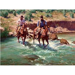 Cross Muddy Creek by Norton, Jim