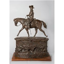 John Wayne (First Unfinished Model for the Monument) by Jackson, Harry