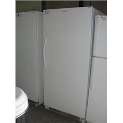 frigidaire frost free upright freezer white able auctions. Black Bedroom Furniture Sets. Home Design Ideas
