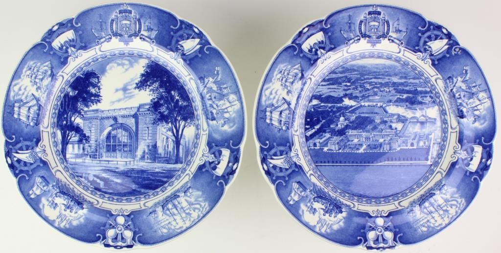 ... Image 5  Interesting US Naval China by Wedgewood ... & Interesting US Naval China by Wedgewood