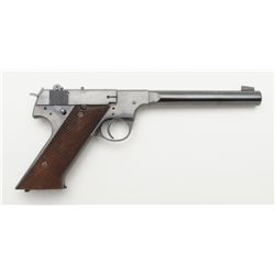 High Standard HD Military, .22 caliber semi-automatic pistol in fine to excellent original condition