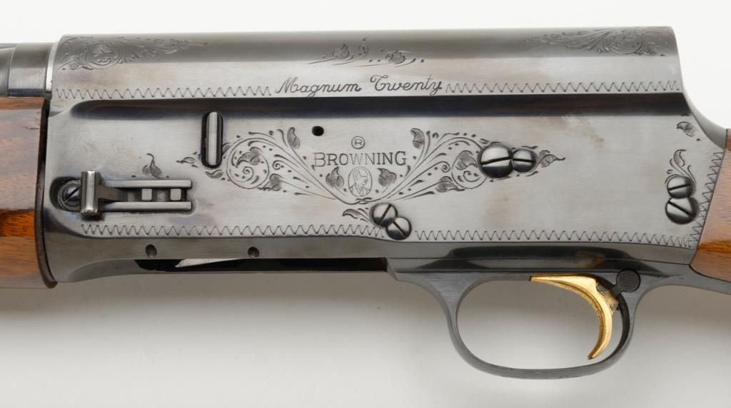browning auto 5 magnum 20 belgian made semi automatic shotgun in 20