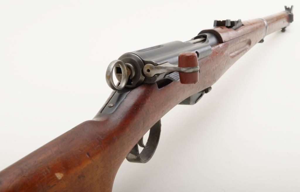 Swiss Model 96/11 straight pull rifle Schmidt Rubin, 7.5mm ...