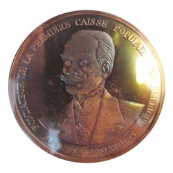 1975 Silver Medal Commemorating the 75th Anniversary of Caisse Populaire ( Credit Union ), CCCS PF-6