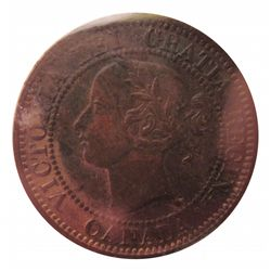 Cent 1859 ICCS MS-60; Trace Red.
