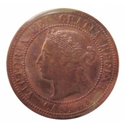 Cent 1882H ICCS MS-63; Obverse 2, Red & Brown.
