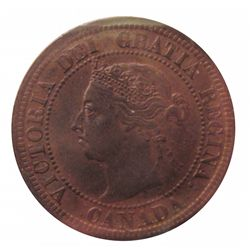 Cent 1892 ICCS MS-62; Obverse 3, Red & Brown.
