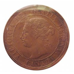 Cent 1892 ICCS MS-60; Obverse 4, Brown.