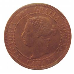 Cent 1896 ICCS MS-62; Red & Brown.