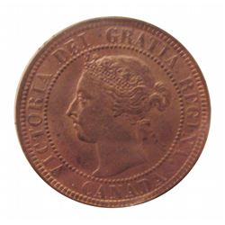 Cent 1901 ICCS MS-63; Red & Brown.