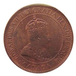Cent 1902 ICCS MS-63; Red & Brown.