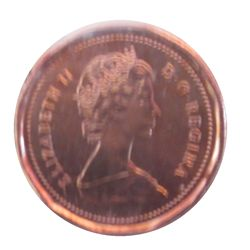Cent 1989 ICCS MS-66; Red.