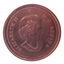 Cent 2005 ICCS MS-67; Red.