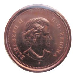 Cent 2005P ICCS MS-67; Red.