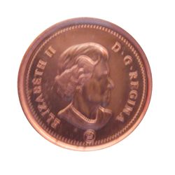 Cent 2010 Non Magnetic, ICCS MS-66; Red.