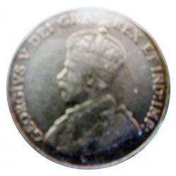 5 cents 1925 CCCS VF-30; Scratches.