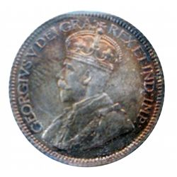 10 cents 1931 ICCS MS-64. Beautiful Rust color tone, great lustre.