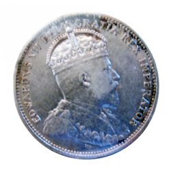 25 cents 1902H ICCS VF-30.