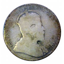 25 cents 1906, Small Crown in About-Good-2 with a ding in the face but missing in most collections,