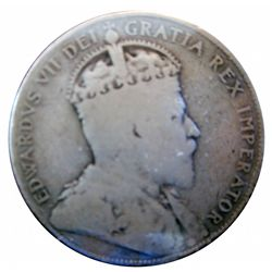 50 cents 1905, Good-4, key date and always in demand.