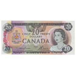 Bank of Canada; 20 dollars 1979 Replacement BC-54aA Lawson Bouey 51001664085 PCGS AU-53PPQ.