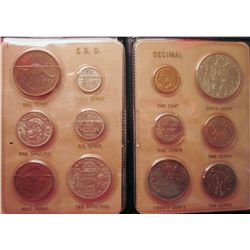 Australia Changeover Souvenir set 14th February, 1966 that include the 6 new coins issue as the new