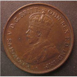 Australia, 1912H One Penny EF-45, list at $165.00 in EF-40 and $375,00 in aUNC in McDonald Catalogue