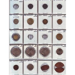 Hong Kong;  Lot of approximately 75+ coins.  Dates 1899 to 1978.  Two coins date prior 1949.  Small