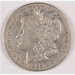 1888-S MORGAN SILVER DOLLAR, VF  SEMI-KEY