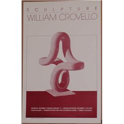William Crovello, 1984 Pueblo Exhibition Poster