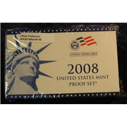 48. 2008 U.S. Proof Set. Original as issued. CDN Bid is $56.00.
